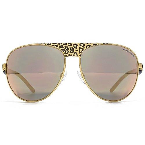 Michael Kors Unisex MK1006 Sadie II Sonnenbrille, Gold (Gold/Black 1057R5), One size (Herstellergröße: 62)
