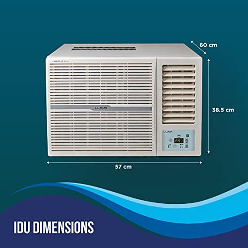 Lloyd 1.0 Ton 3 Star Window AC (GLW12B32WSEW, White)