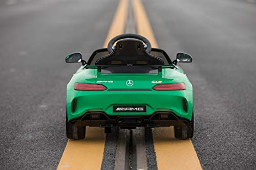 RC Auto kaufen Kinderauto Bild 3: Toyas Mercedes Benz GTR AMG Sportwagen KINDERFAHRZEUG KINDERAUTO Grün*