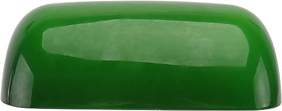 OSALADI Os Banqueiros Abajur Abajur De Vidro Verde Retro Antigo Tampa Da Lâmpada Verde Máscara de Lâmpada de Substituição ...