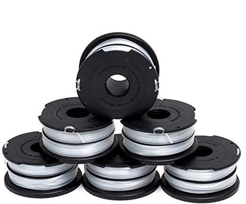 Bobinas de hilo A6481 para desbrozadora Black+Decker, diámetro de 1,5 mm, 10 m de longitud, para ST5530/CM,ST1823/20,1820CM/PC/PCB/PST/EPC