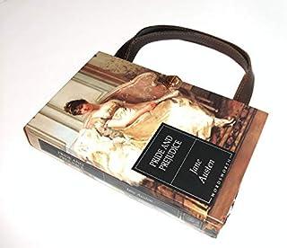 Jane Austen Pride and Prejudice Book Purse Handmade Handbag