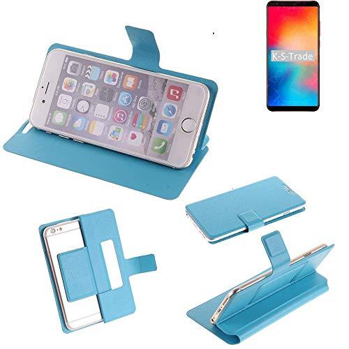 K-S-Trade Flipcover Kompatibel Mit Vernee Apollo 2 Schutz Hülle Schutzhülle Flip Cover Handy Hülle Smartphone Handyhülle Blau