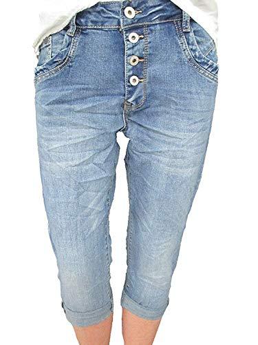 Karostar by Lexxury -  Pantaloncini  - Donna jeans XL/48