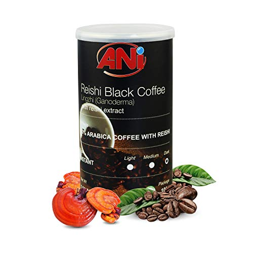 Reishi schwarzer Kaffee Instant mit Extrakt 100g