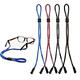 Sport Eyeglasses Strap, HQCM 4 Pcs Glasses Strap Chain Eyeglasses Cord Retainer Spectacle