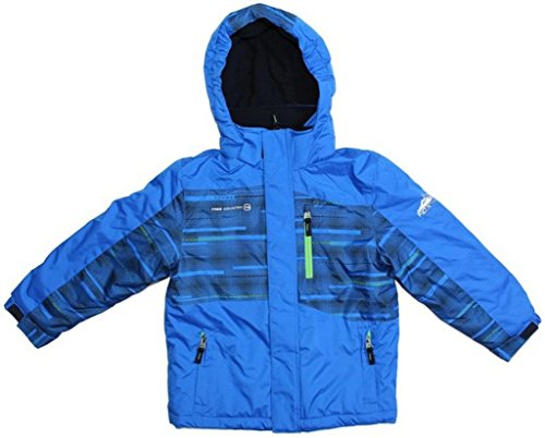 Free Country Boys Extreme Snow Boarder Jacket (S (7/8), Electric Blue/Electric Blue)