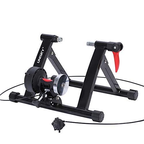 Zxllyntop Road Machine Smart Bike Trainer Magneto-resistivo de Nivel Profesional adiestramiento de equitación Plataforma 20-22 Pulgadas pequeño Rueda de Bicicleta (Color : Verde, tamaño : Un tamaño)