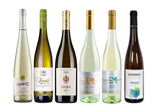 Probierpaket mit 6 TOP-Weißweine Bulgariens