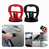 Puller Handle Lifter Dent Puller Suction Cup Dent Powerful Traceless Car Dent Removal Tools for Car Dent Repair Glass Screen Tiles Mirror and Objects Moving (Red)