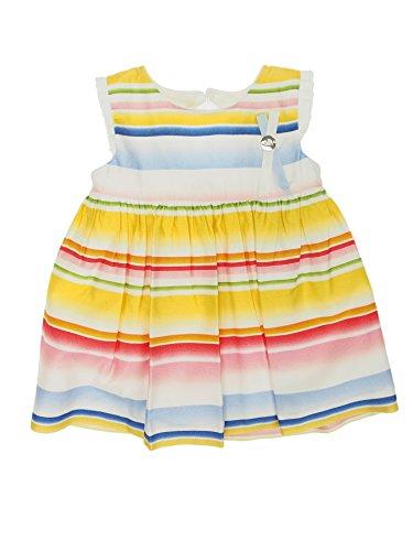 Mayoral 28-01952-003 - Vestido para bebé niña 12 Meses Amarillo