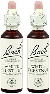 (2 Pack) - Bach Original Flower Remedies - White Chestnut | 20ml | 2 PACK BUNDLE