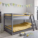 Noa and Nani - Hilda Cabin Bed with Bunk Underbed - (Grey)
