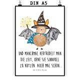 Mr. & Mrs. Panda Wanddeko, Geschenk, Poster DIN A5