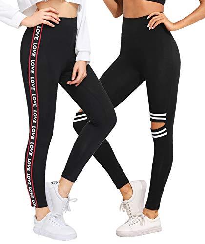 DTR FASHION Women's Cotton Rib Printed Slim Tight Jegging_Stretchable Joggers...