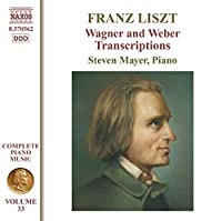 Wagner & Weber Transcriptions Piano Music Vol. 33