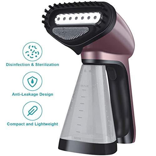 JKYQ Bateau à Vapeur de vêtements à Main Portable 1500W Haute Machine à Repasser électrique pour l'élimination des Rides enlever l'odeur de la Vapeur ramollir Propre
