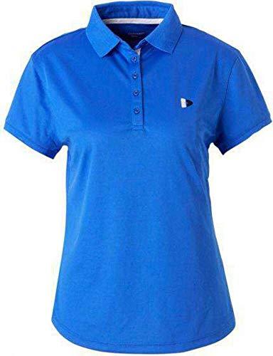 Donnay Cool-Dry polo para mujer, color Azul - azul, tamaño XS