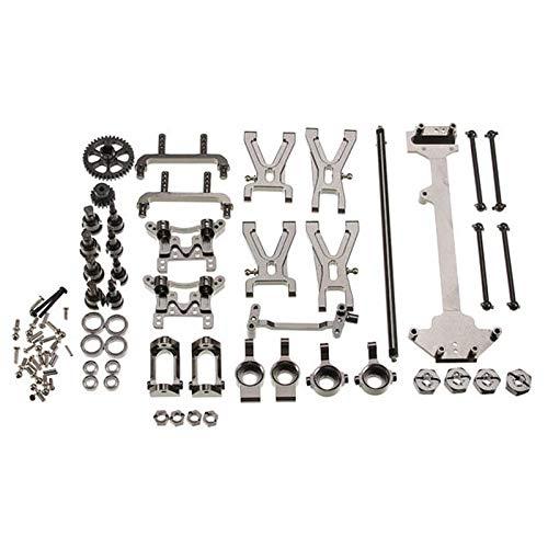 JVSISM Kit de Piezas de Metal de ActualizacióN para Wltoys K929 A959 A969 A979 A959B A979B 1/18 RC Piezas de AutomóVil