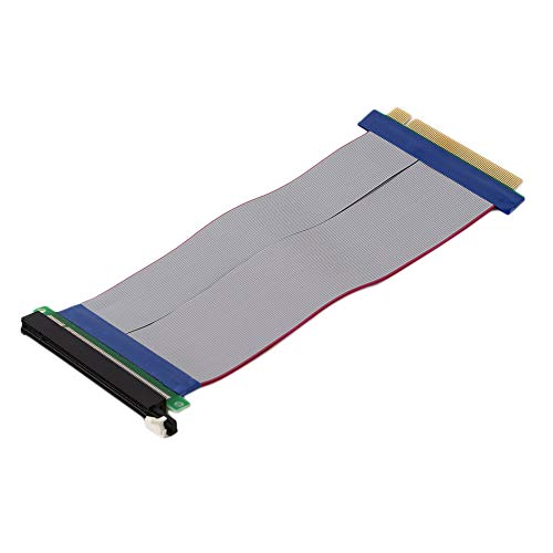 Professionele PCI-Express PCI-E 16X Riser Card Ribbon Extender verlengkabel