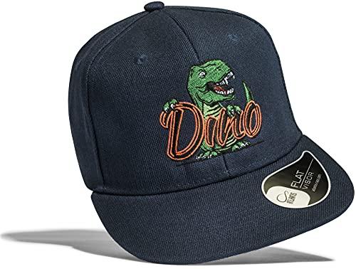 Kinder Cap: T-Rex - Mütze für Kinder Geschenk für Junge-n & Mädchen - Dino Dinos Dinosaurier Tyrannosaurus - Kappe Baseball-Cap Basecap - Kinder-Geburtstag Schule Sport Sonnenschutz (One Size)