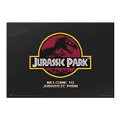 Vade Jurassic Park -Tapete escritorio / Vade escolar multifuncional │ Protector escritorio - Producto con licencia oficial