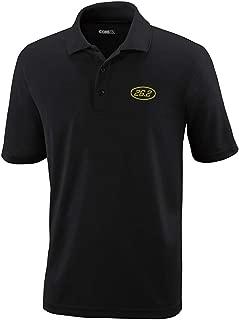 Custom Polo Performance Shirt 26.2 Miles Marathon Embroidery Design Golf Shirt
