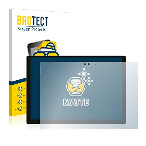 BROTECT Entspiegelungs-Schutzfolie kompatibel mit Microsoft Surface Pro 2017 (5. Generation) Bildschirmschutz-Folie Matt, Anti-Reflex, Anti-Fingerprint