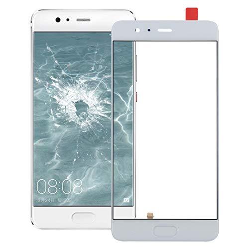 Huawei repuesto para Huawei P10 Plus pantalla frontal lente de vidrio exterior, soporte de identificación de huellas dactilares de repuesto Huawei