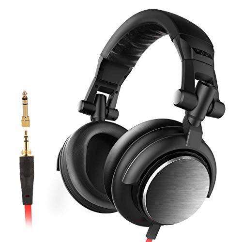 AERJMA Kopfhörer mit Geräuschunterdrückung, Subwoofer, faltbare Ohrenschützer, DJ-Kopfhörer, geeignet für TV, Online-Klassenzimmer, Heimbüro