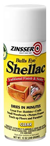 Clear Shellac Spray 12 oz