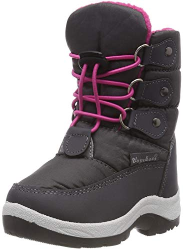 Playshoes Snow Boots Lace-up Unisex-Kinder Schneestiefel, Pink (pink 18), 26/27 EU