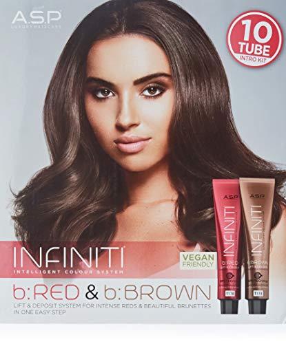 A.S.P. Affinage Infiniti b:Red+b:Brown Kit mit 10 Tuben