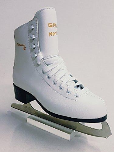 Graf Montana Eiskunstlaufschlittschuhe Schlittschuhe Weiß (38)