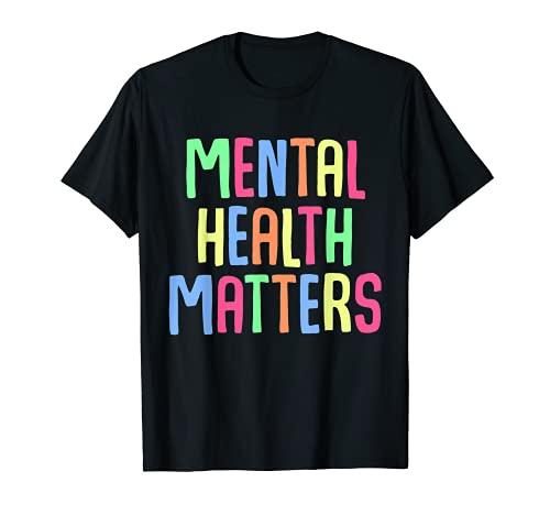 apoyo para la concienciación sobre depresión de salud mental Camiseta