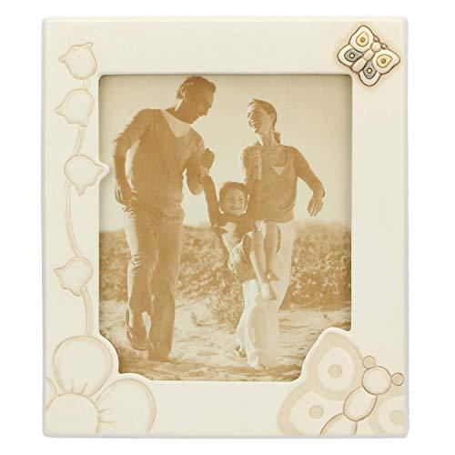 THUN - Portafoto Maxi - Idea Regalo, Accessori per la Casa - Linea Elegance - Ceramica - Formato Foto 25,5x21,5