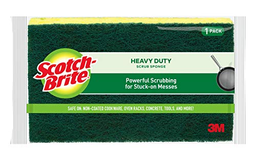 Scotch-Brite Heavy Duty Scrub Sponge, 6 Sponges Total