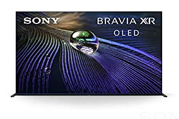 Sony A90J 55 Inch TV  BRAVIA XR OLED 4K Ultra HD Smart Google TV with Dolby Vision HDR and Alexa Compatibility XR55A90J- 2021 Model