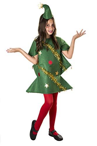 Costumizate! Disfraz de arbol de Navidad para niños Especial navideño Talla 10-12