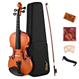 Eastar 4/4 Violin Full Size EVA-2 Student Violin for Beginners with Learning Point