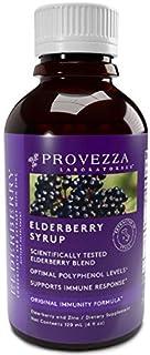 Sponsored Ad - Elderberry Syrup, Premium European Black Sambucus Formula with Zinc and Antioxidants, Plant-Based Immune Su...