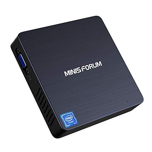 【Versione Nuova 】Mini PC Intel Celeron N3350 (fino a 2.4GHz) 4GB...