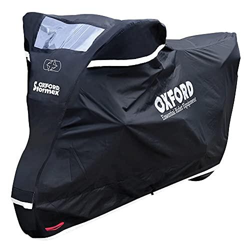 Oxford STORMEX Outdoor Housse de Protection étanche pour Moto Noir 229 x 99 x 125 cm