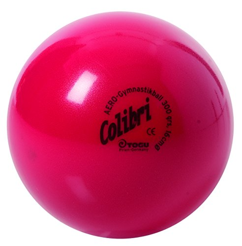 Togu Unisex– Erwachsene Colibri-Aero-Ball Gymnastikball, rot, 16 cm