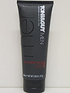 2 X TONI & GUY MEN STYLING GLUE CREATIVE STICK IT UP 2x100ml