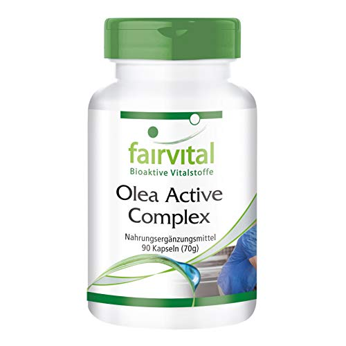 Olea Active Complex - VEGAN - 90 capsules - combinatie van B-vitamines, foliumzuur, olijfbladeren, schisandra, granaatappel en OPC