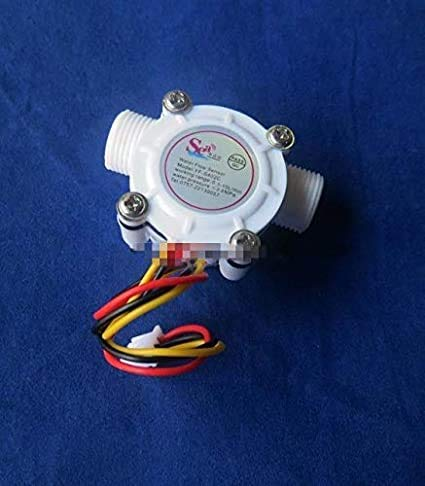 Sensore di flussometro – G3 8 sensore di flusso vite Tooth legno Flow Sensor contatore metri indicatore scaldabagno 0,3 – 10 l min 3 – 24 V F = 23 * Q