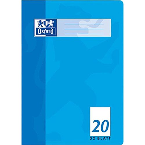 Oxford 100050326 Heft A4 / 32 Blatt Lineatur 20