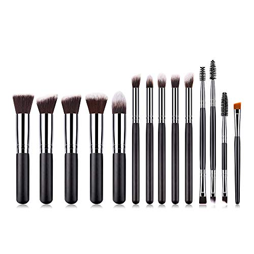 Anself Make Up Pinsel Set 14pcs Professionelles Schminkpinsel Kosmetikpinsel Lidschatten...
