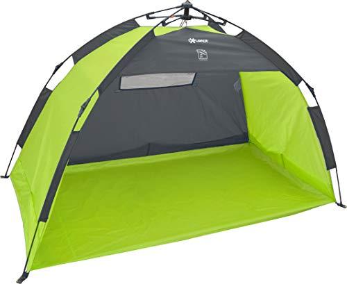 EXPLORER Strandmuschel Pop up Quick Automatik Beach Tent Sonnenschutz UV80+ 2020